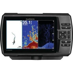 GARMIN STRIKER PLUS 7SV. Обзор эхолота с 7-дюймовым дисплеем и GPS